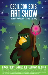 Cecil Con 2018 Art Show