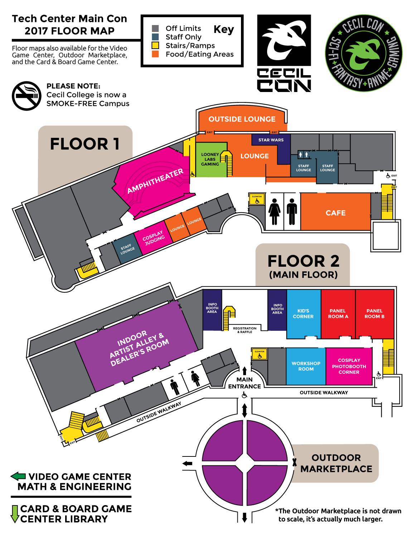 CecilCon_TechCenter_FloorMap