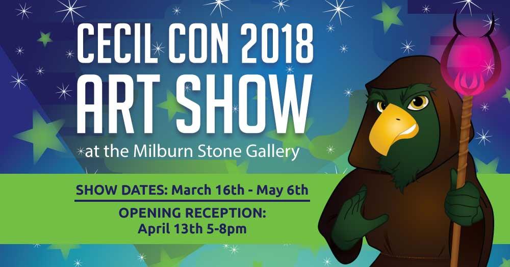Cecil Con 2018 Art Show North East, MD