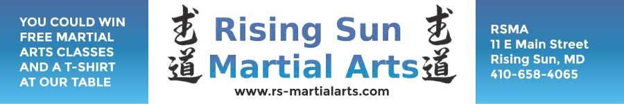 Rising Sun Martial Arts Cecil Con Sponsor
