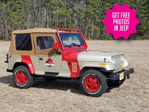 Jurassic Park Jeep Cecil Con