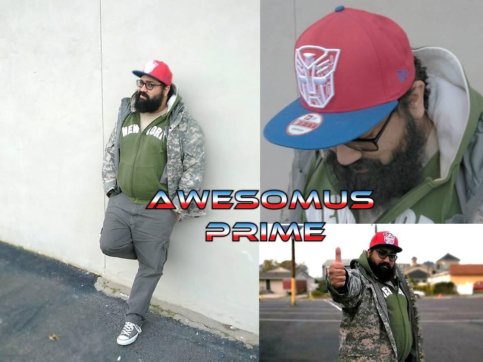 Awesomus Prime - Convention DJ - Cecil Con