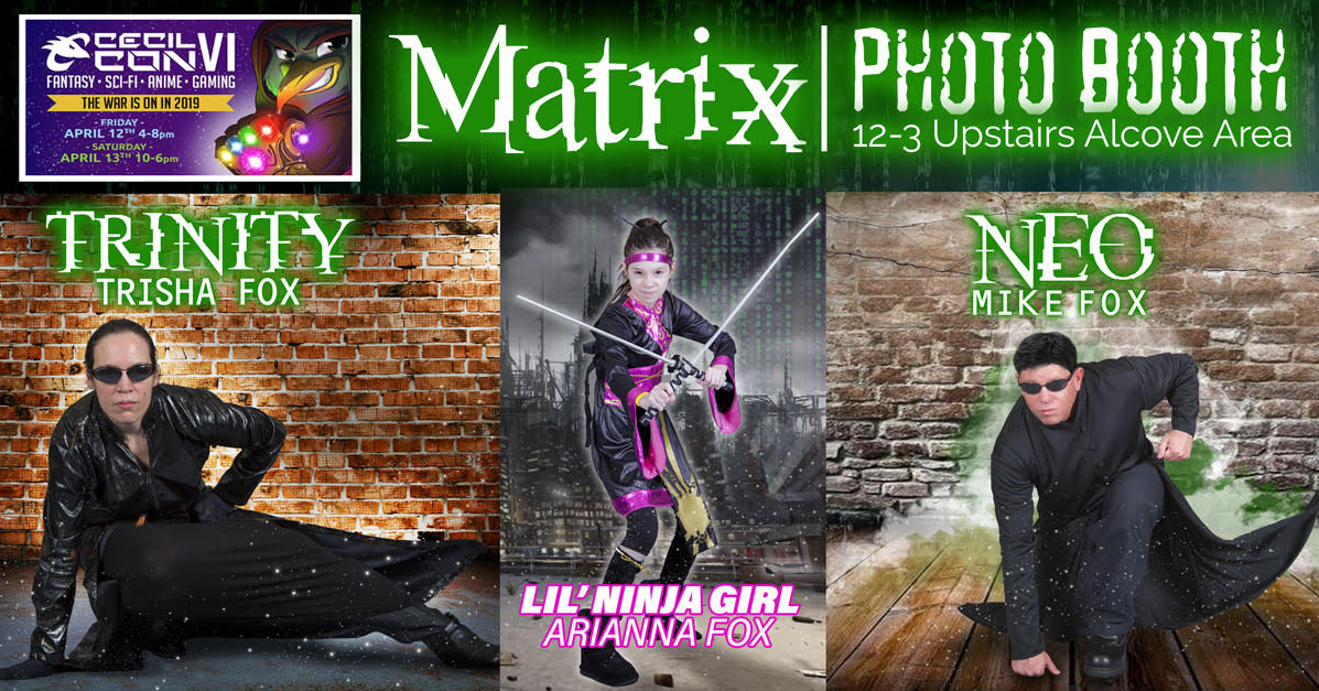 Matrix Cosplay Pohot op - Cecil Con North East, MD